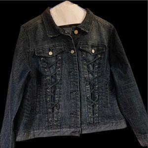 Gently worn denim jacket